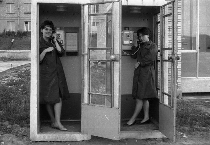 В 70-х годах ограничения на телефонные разговоры не было / Фото: a-dedushkin.livejournal.com