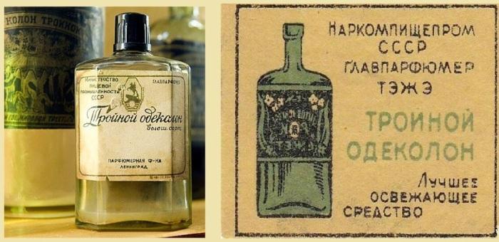 Одеколон не вызывал раздражение, освежал и снимал воспаление / Фото: yandex.ru