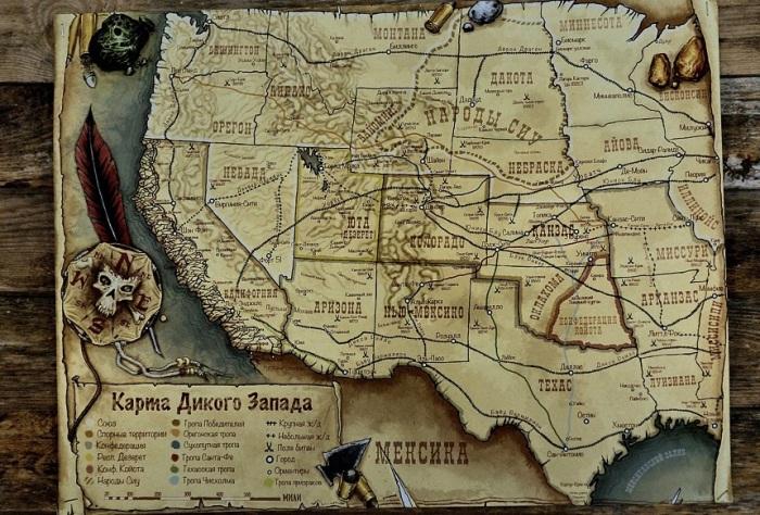 Под Диким Западом подразумевается Фронтир - огромная территория, куда входили многие штаты / Фото: analgetik.livejournal.com