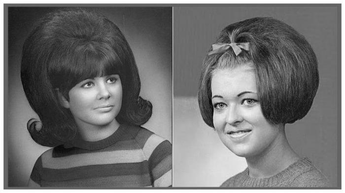 С помощью консервной банки даже редкие волосы выглядели шикарно / Фото: www.youtube.com