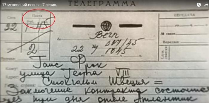 Бланк телеграммы по всем признакам советский / Фото: users.livejournal.com
