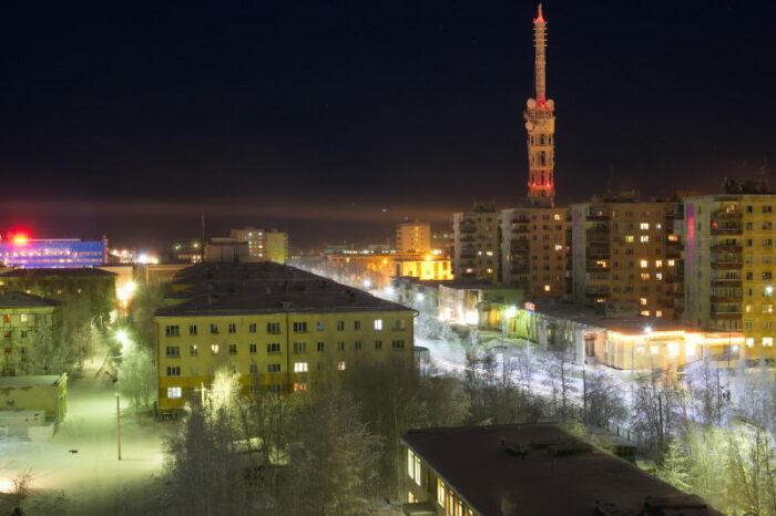 Вид ночного города / Фото: fotokto.ru