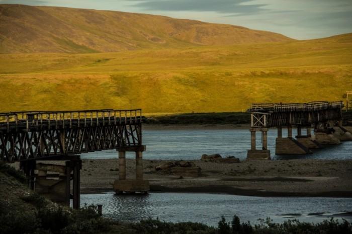 Дороги и мосты, ведущие к Иультину, давно пришли в негодность / Фото: russianpolar.ru