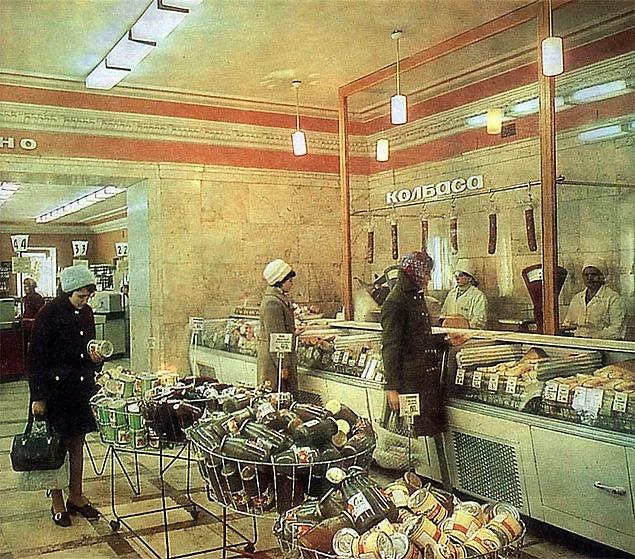 Советская колбаса была желанным подарком для иностранных граждан / Фото: madawoman.ru