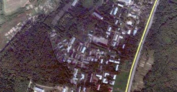 Снимок со спутника ЗАТО Загорск-6 и Загорск-7 / Фото: pikabu.ru