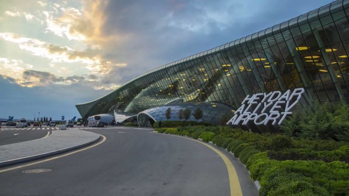 Терминал для обслуживания международных рейсов был спроектирован турецкими архитекторами / Фото: twitter.com