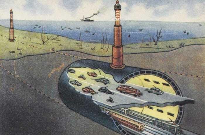 На строительство тоннеля под Ла-Маншем ушло огромное количество сил и финансов, приложены колоссальные усилия / Фото: vgudok.com