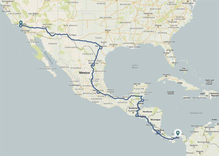 Панамериканская трасса внесена в Книгу рекордов Гиннеса, так как является наиболее длинным шоссе во всем мире / Фото: worldtravlr.com