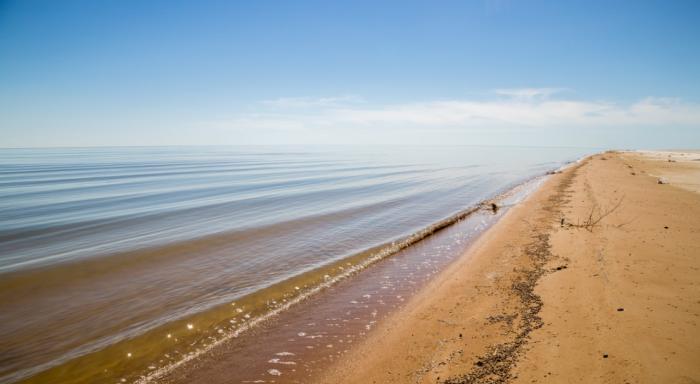 В 1874 г. Владимир Аленицын изучил побережье водоема и описал его / Фото: vmulder.livejournal.com