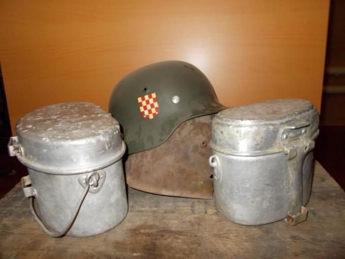 Немецкие котелки имели много общего с советскими / Фото: prosto-rgb.livejournal.com
