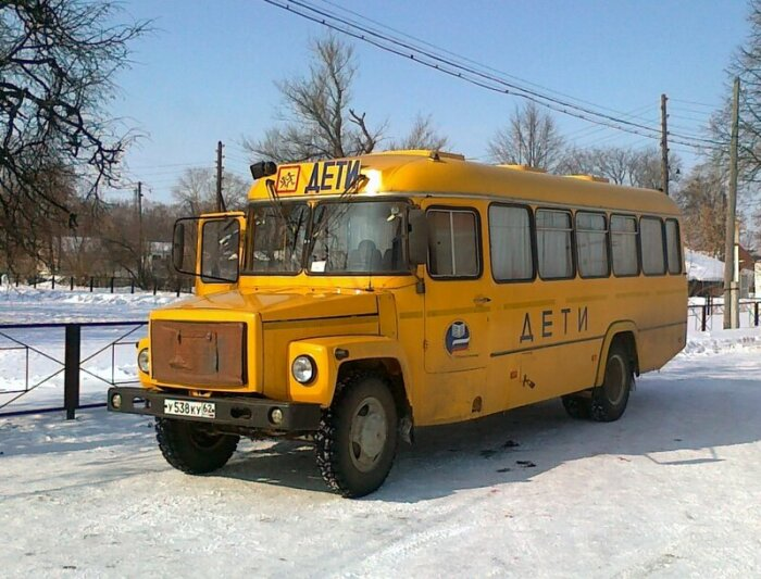 Особенно популярными были школьные автобусы КАвЗ-397 653 / Фото: ed4m0054.mybb.ru