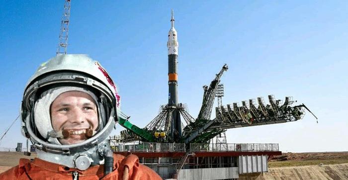 С Байконура запустили искусственный спутник, первый во всем мире, отправились в путешествие Белка и Стрелка, Юрий Гагарин тоже полетел в космос отсюда / Фото: historyrussia.org