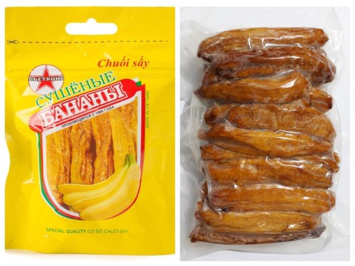 В Советский Союз завозили также сушеные (вяленые) бананы / Фото: russian.alibaba.com