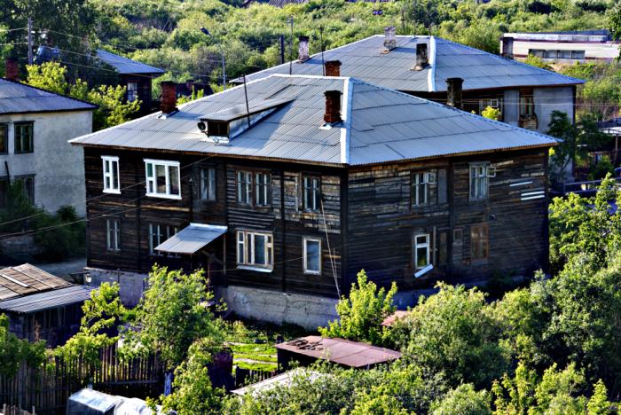 Первые бараки были предназначены для сельских жителей / Фото: fotokonkurs.ru