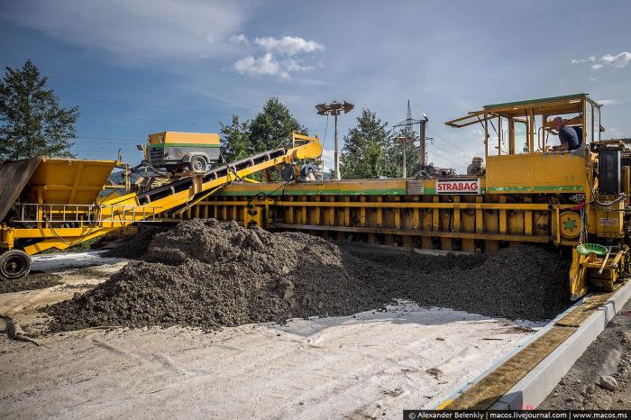 Сложность технологии и недостаточное финансирование - основные причины, почему в России бетонных дорог практически нет / Фото: drive2.ru