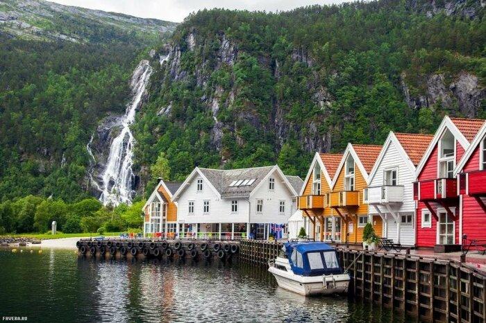 В Норвегии население тоже не оставляют без внимания, заботы и поддержки / Фото: fotostrana.ru