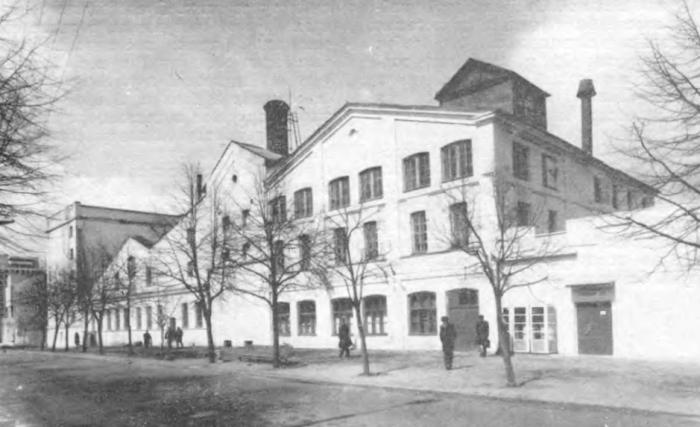 Под запретом бомбежки у немцев был Минский пивоваренный старый завод / Фото: pastvu.com