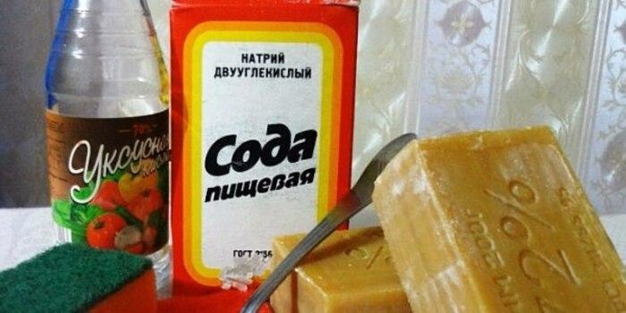 В состав бомбочек для стирки входят компоненты, которые обычно есть в каждом доме / Фото: hoznauka.ru