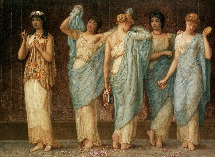 Запугать женщин Древнего Рима было не так уж и легко / Фото: Twitter