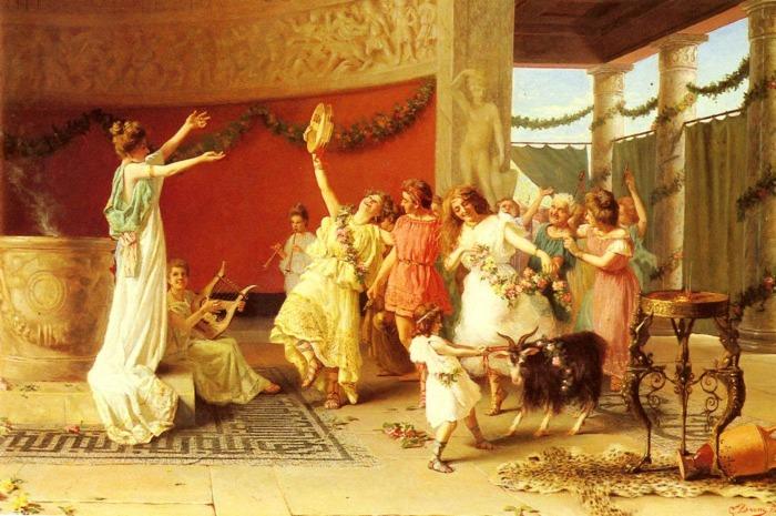 Принятые Октавианом законы во многих аспектах давали женщине свободу / Фото: zendiar.com