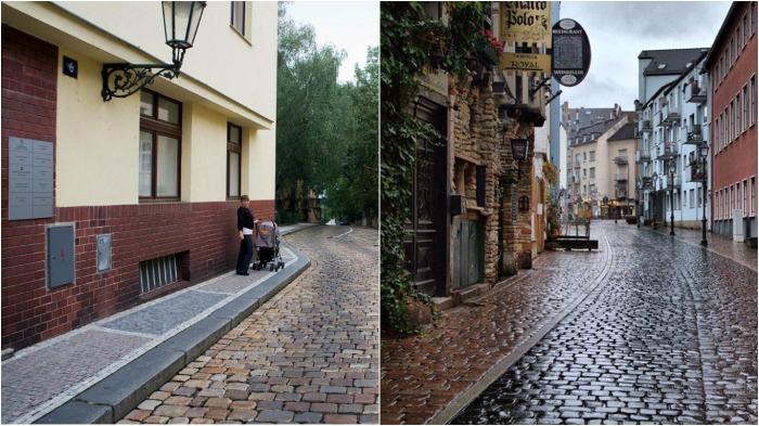 После обработки тротуарной плитки Телаккой появляется эффект мокрого камня / Фото: ftour.otzyv.ru
