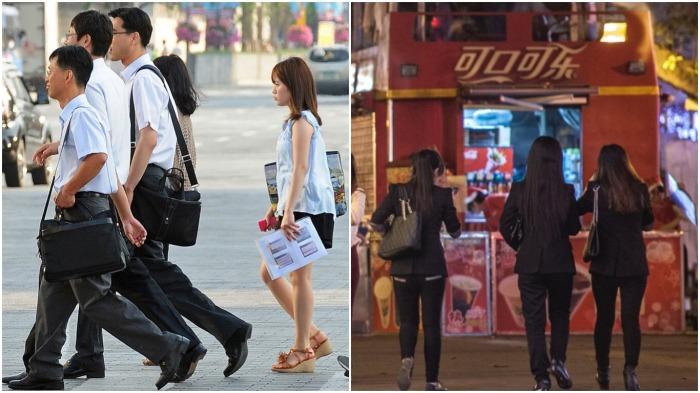 В восточной части Китая солнце к концу рабочего дня еще светит, а в западной – уже сумерки / Фото: m.fishki.net