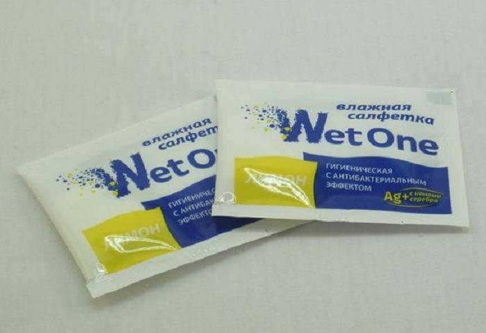 В составе влажных салфеток для очистки ручек может быть спирт или лимонная кислота / Фото: odnorazka.ru