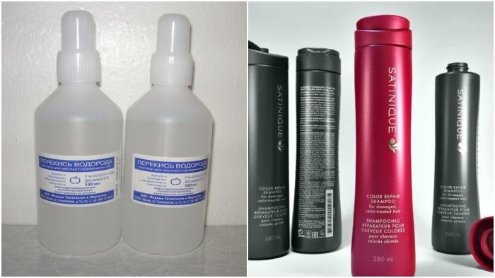 Чтобы кожа головы долго не становилась жирной, в шампунь следует добавлять перекись водорода / Фото: darudar.org