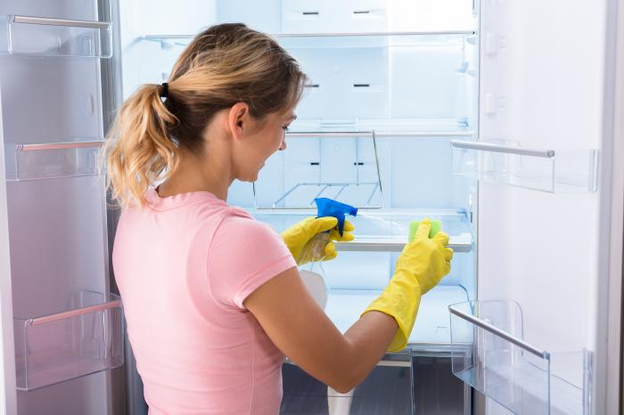Моющие средства помогают справиться с загрязнениями, но существует более простой способ поддержания чистоты в холодильнике / Фото: uk.nangarden.com
