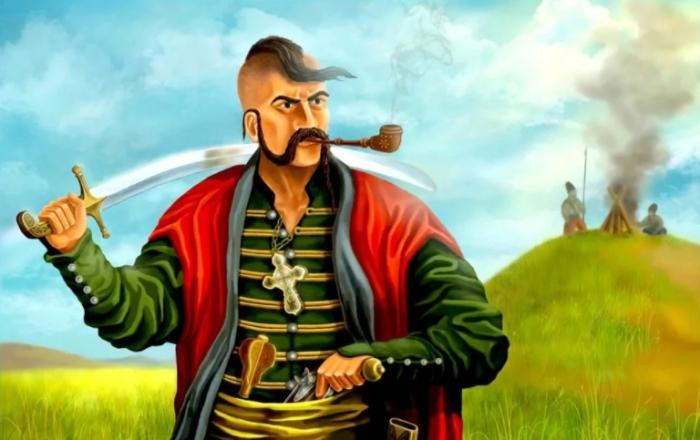 Чупрына выступал знаком отличия и показатель статусности казака / Фото: ii.yakuji.moe