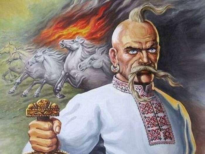 Согласно описанию, сделанному Львом Диаконом, князь Святослав носил чуб-оселедец / Фото: novosti333.ru