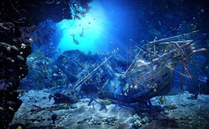 Дерево полностью пропитывалось водой и корабль мог пойти ко дну / Фото: znaj.ua