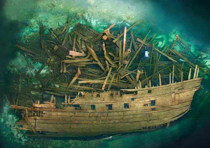 Многие деревянные корабли и сейчас находятся на дне, о чем свидетельствуют фотоснимки, сделанные дайверами в различных уголках планеты / Фото: blog.stanis.ru