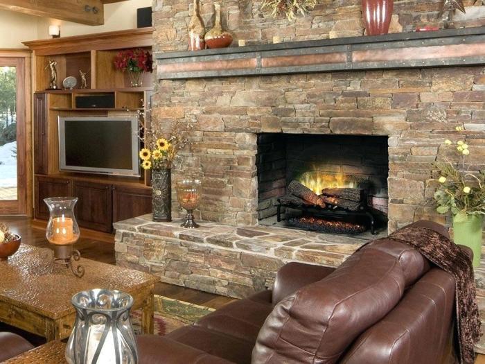 В западных странах основным источником тепла выступает камин / Фото: aliciaclaros.com