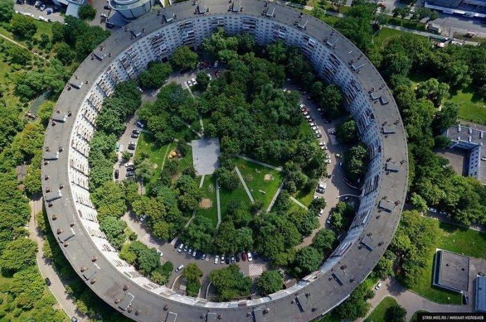 Советские архитекторы в некоторых проектах воплощали необычные идеи / Фото: yandex.ua