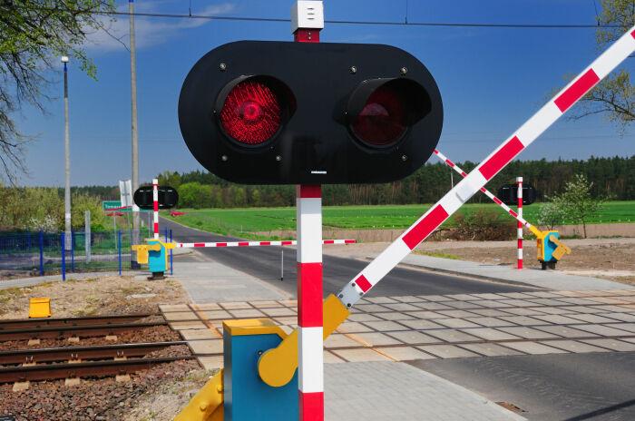 В отличие от России в Европе ожидание на ж/д переезде минимальное / Фото: zr.ru