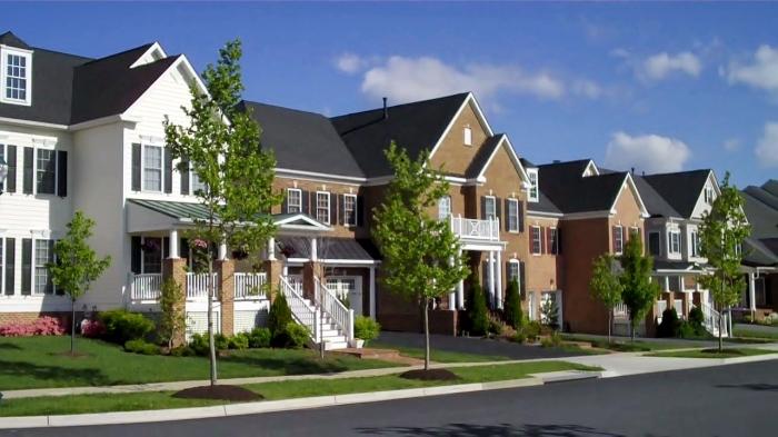 Запрет на возведение заборов вокруг жилых построек в Америке регулируется законом / Фото: zefirka.net