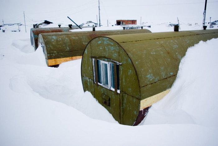 ЦУБики хорошо удерживают тепло даже в самые суровые морозы / Фото: sevprostor.livejournal.com