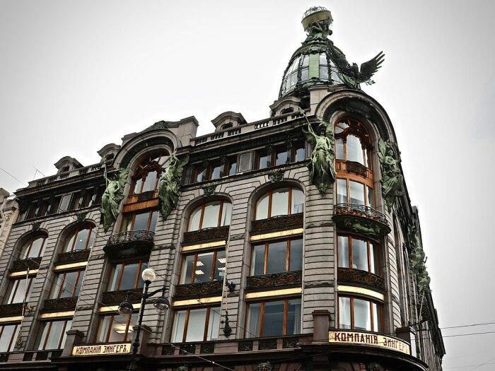 Компания Зангер к Германии не имеет никакого отношения / Фото: peterburg-center.ru