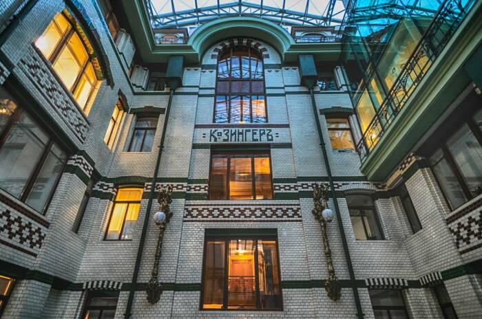 В здании находится офис компании «ВКонтакте» / Фото: twitter.com