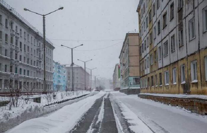 Долгое время дома в Норильске строили без балконов / Фото: webunions.mirtesen.ru