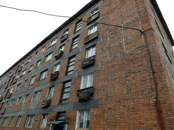 По мнению специалистов, в регионе с суровыми зимами необходимости в балконах не было / Фото: foto-planeta.com