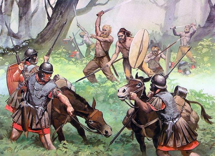 Варваром считался тот, кто не являлся римлянином или греком и не владел языком / Фото: alena-nevsky.com