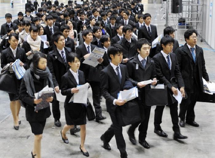 Объединение в подобные движения помогает молодежи Японии бороться с системой / Фото: gaku.ru
