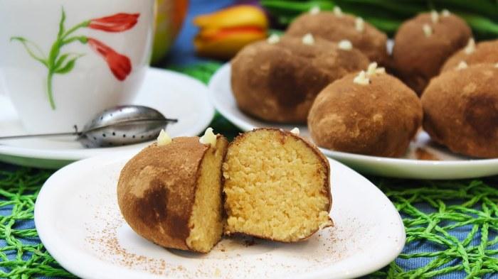 Пирожное «Картошка» / Фото: youtube.com