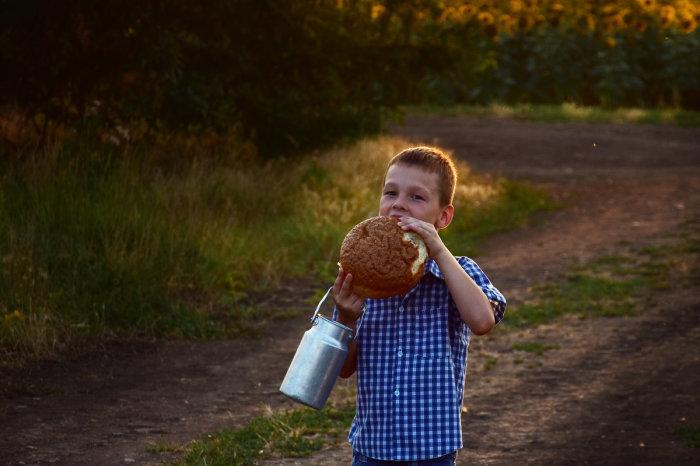 Самое вкусное в хлебе - корочка / Фото: fotokto.ru
