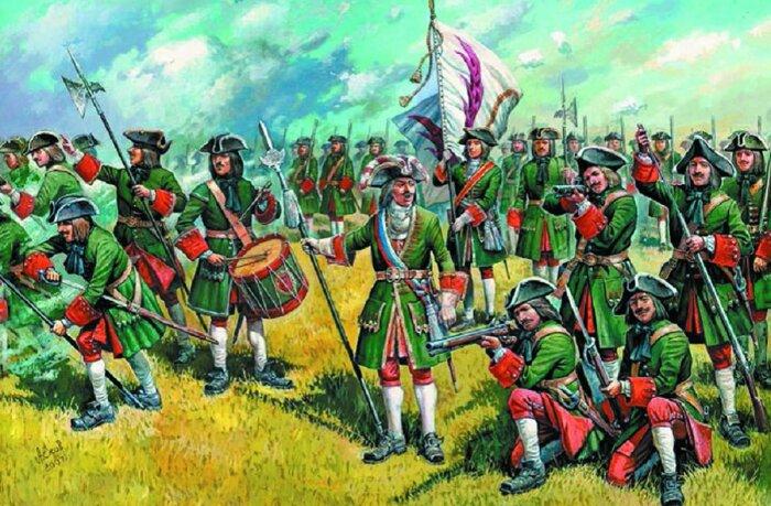 Первые ефрейторы появились во времена Петра Первого и упоминаются в 1716 г. в петровском уставе / Фото: Twitter