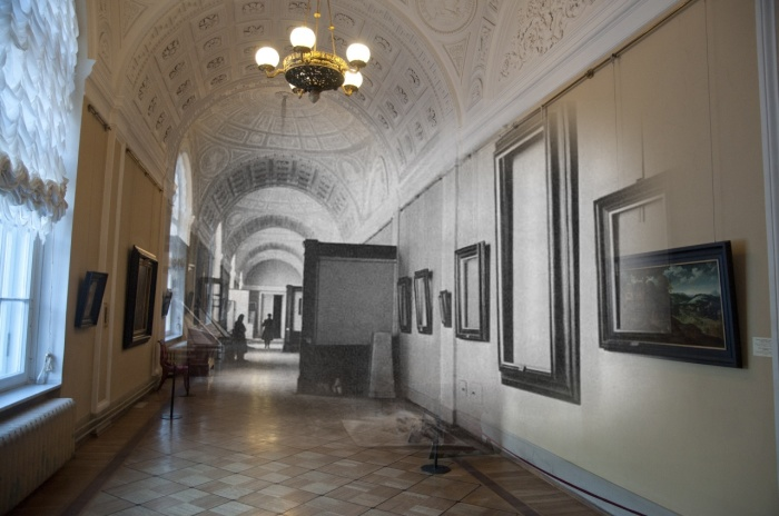 Чтобы все картины вернулись на прежнее место, не нужно было делать зарисовки, достаточно было оставить на стенах рамы от них / Фото: u-ssr.ru