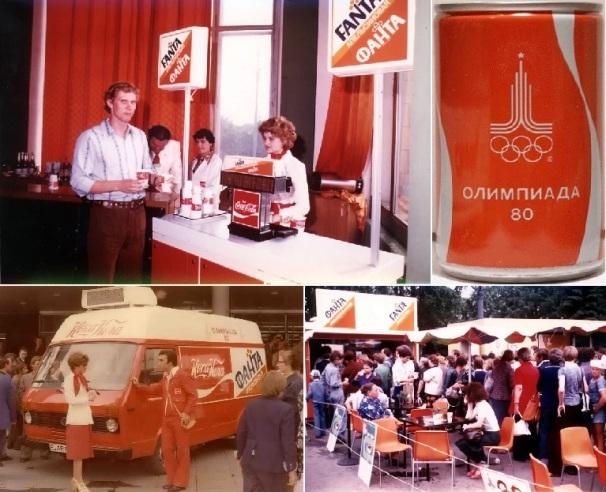 Впервые жители СССР познакомились с Coca-Cola во время Олимпиады-80/ Фото: yvision.kz