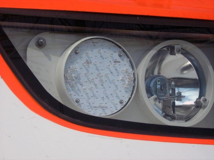 В современных моделях поездов устанавливаются светодиоды с высоким индексом восприятия / Фото: commons.wikimedia.org